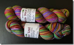 Vesper Sock Yarn - April 2014