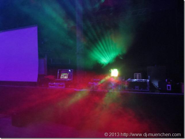 DJ-Effekt-Vorführung