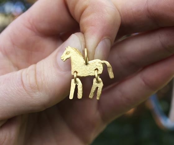 David Neale Foal Pendant 2