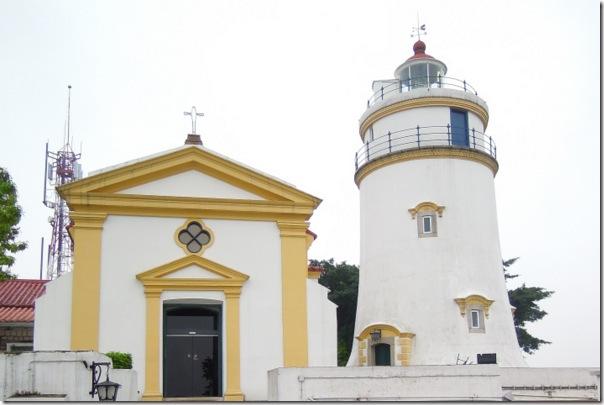 聖母雪地殿及東望洋燈塔