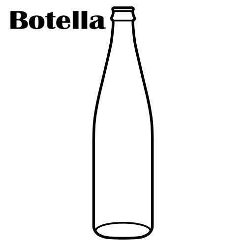 botellas para colorear imagui
