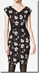 French Connection Bloomsbury Floral Jersey Dress