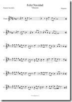 navidad flauta 1