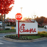 WBFJ & Operation Christmas Child at Chick-Fil-A - Peace Haven Road - Winston-Salem - 11-11-10