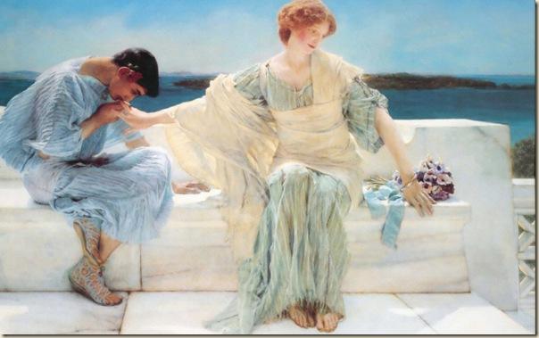 Lawrence Alma Tadema, Ne me demande pas plus  1906