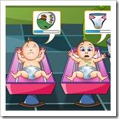 Jogos de Bebê Quatro Gemeos