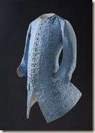 Gilet pour l'Europe, vers 1740 Textile chinois, faille brodée de soie