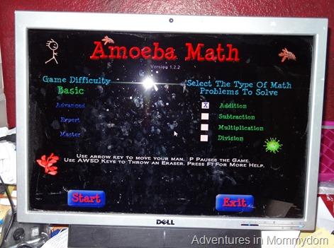 Amoeba Math