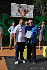 Riconoscimento al 7° presidente: Gianbattista Facchini.