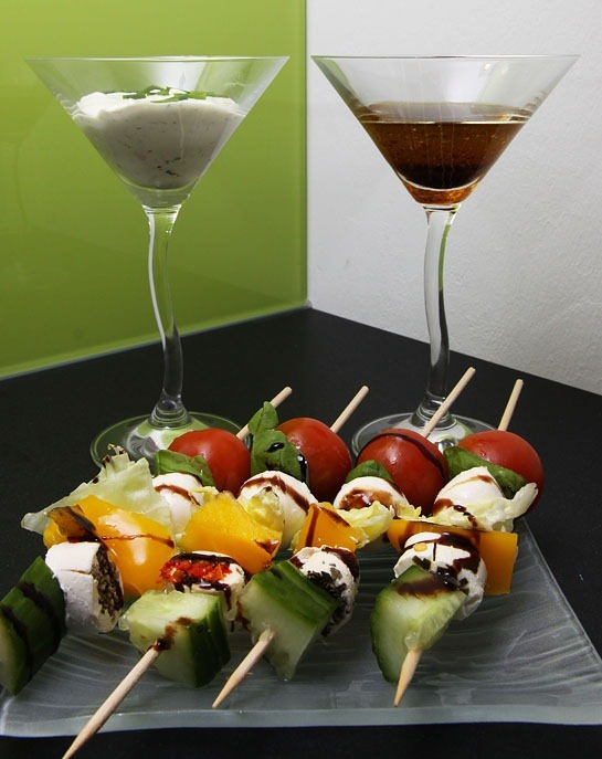 Salad on Stick