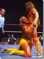 Ultimate Warrior Vs Hogan