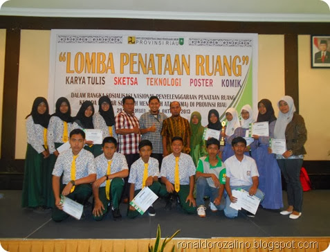 Tim Lomba Penataan Ruang dari Kabupaten Kuantan Singingi di Taja Dinas PU Pov Riau