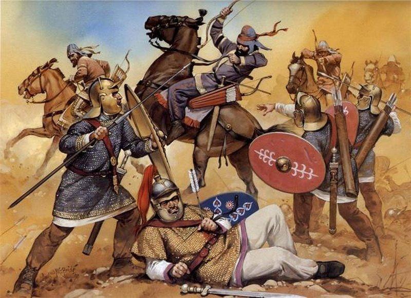 Guerra Persa Romano - Armas Quimicas
