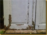 Jendela tua ex rumah tua - sudah 2 atau 3 kali pengecatan