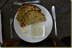 Stuffed Kulcha Aloo Onion Mix