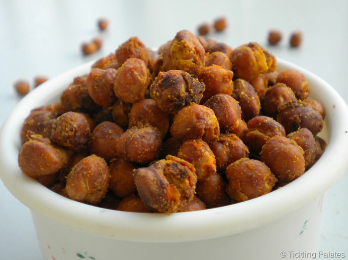 Baked Chick Peas
