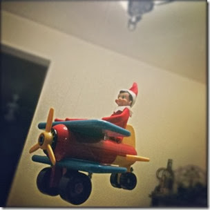Elf on the Shelf - Airplane Pilot Elf