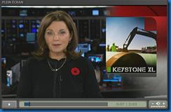 l'oléoduc Keystone XL