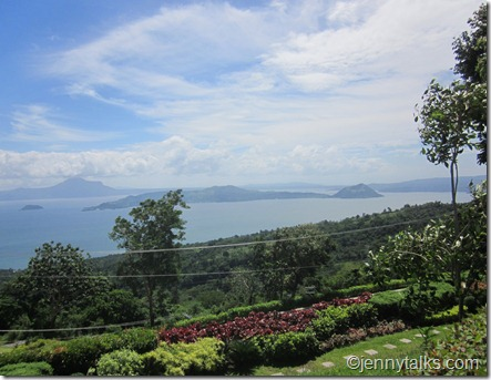 beautiful view of Taal Volcano