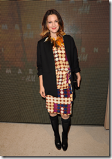 Drew Barrymore Marni at HM