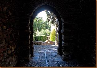 Malaga, alcazabar gate