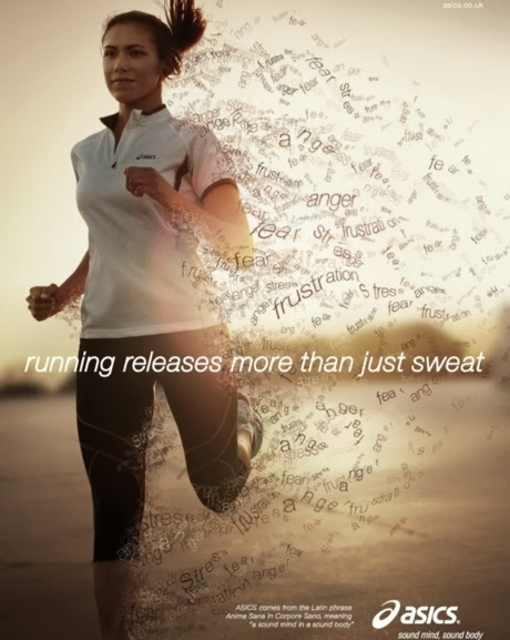 Running releases more than just sweat   Angelslover com