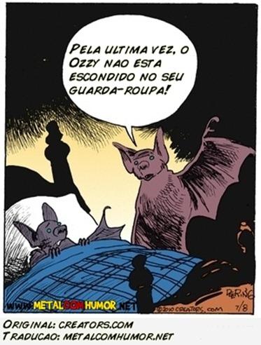 Tirinha Ozzy Morcego