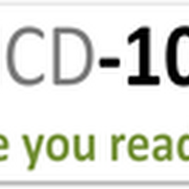 "ICD10 Software Being Sold With ""Hold Harmless"" Clauses–Sign of the Software Development Times?"