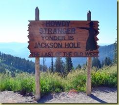 Jackson Hole Sign