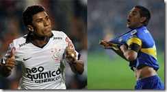 Boca juniors vs Corinthians