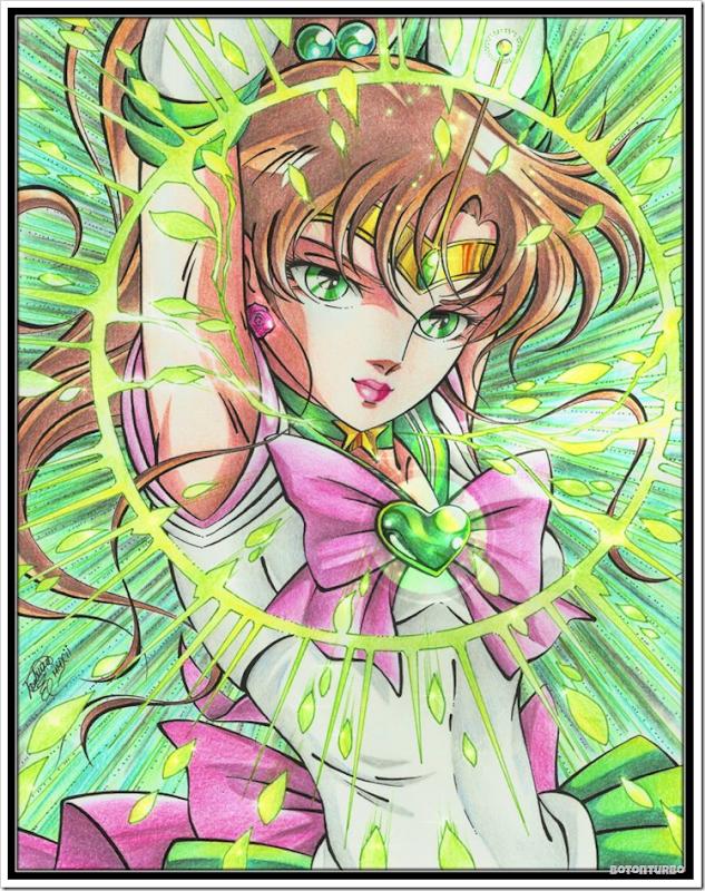 Sailor Jupiter - Saint Seiya Araki