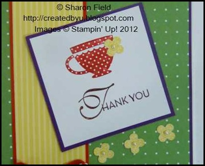 both stamps on one acrylic block and markered dts