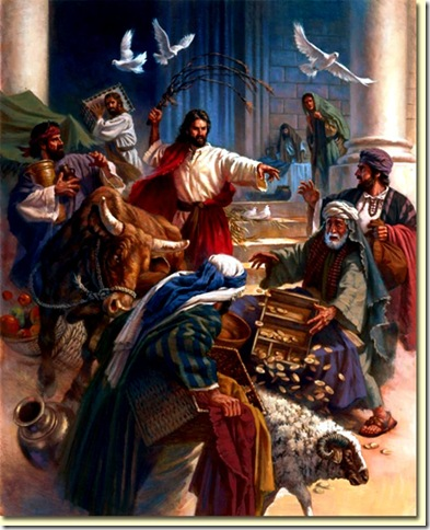 Jesus Scourages Money Changers 2 lg