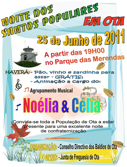 Noite Santos Populares 2011