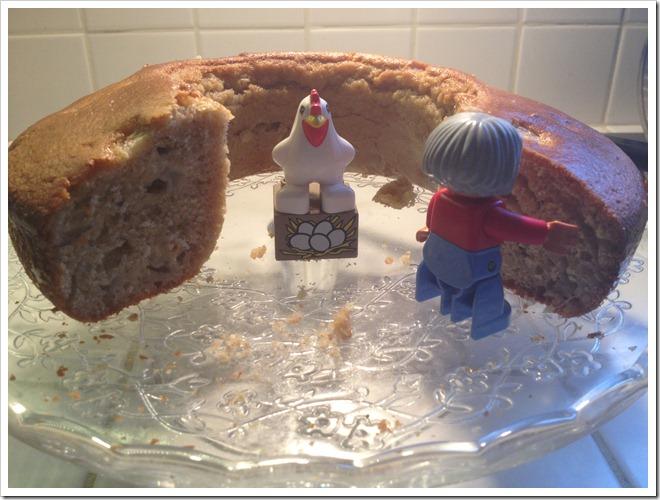 torta alle pere per bambini