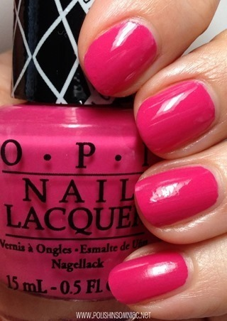 OPI Hey Baby nail polish