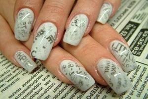 Декупаж на ногтях