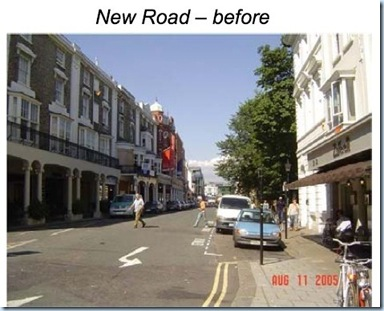new road photo before