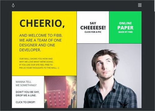 20 hermosos y simples sitios web minimalistas 10