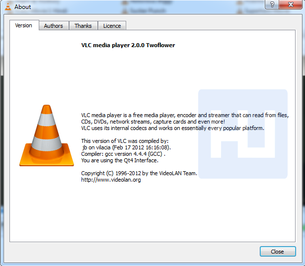 Vlc 2.0 two flower
