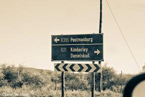 Dirección a Postmasburg