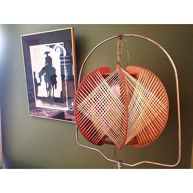thriftscorethursday meganomarrow vintage light and bird cage stand