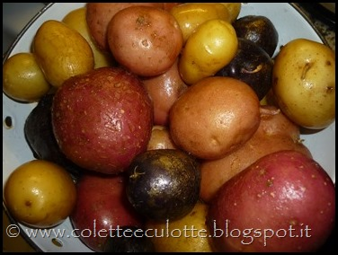 Patate colorate dell'OrtoLà