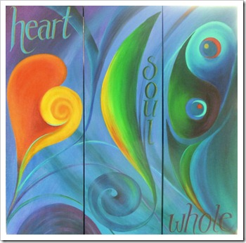 heart soul whole triptych