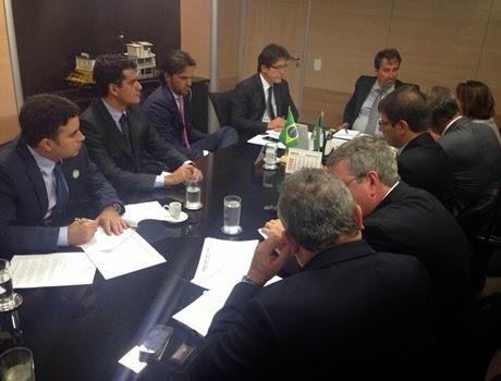 Reunião Brasilia com Gilberto Occhi