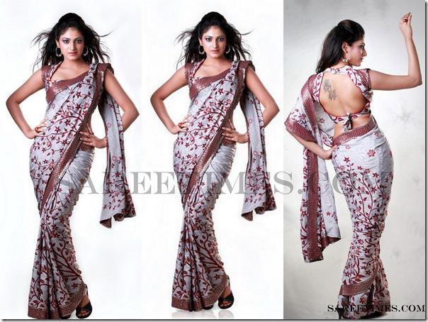 Hari_Priya_In_Designer_Saree