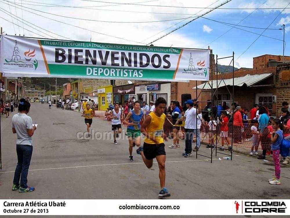 carrera atletica ubate 2013