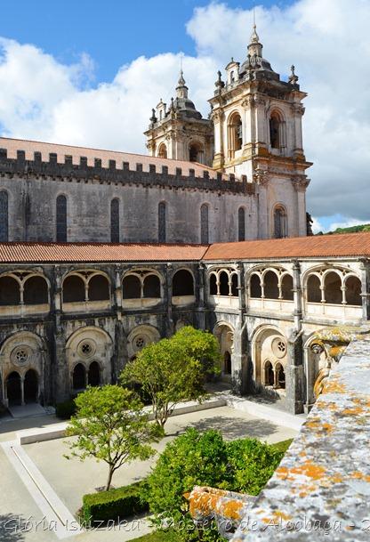 Glória Ishizaka - Mosteiro de Alcobaça - 2012 - 78 - claustro de D. Dinis