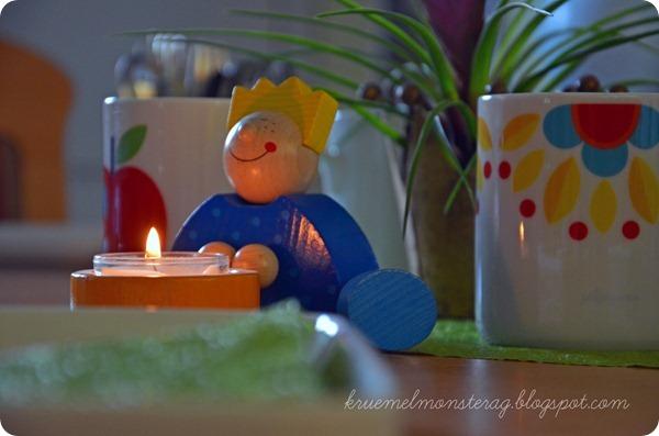 Christophers 14. Geburtstag - gedeckter Tisch