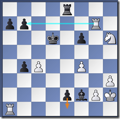 37. Rg7+  Kd6